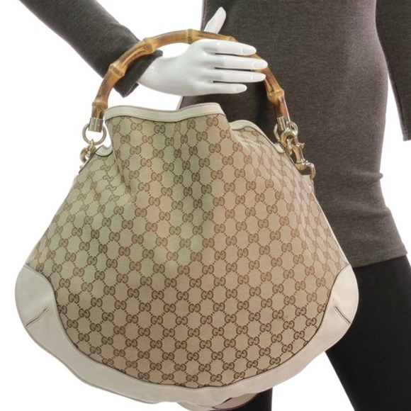 0d01c6142d9a Gucci Bags | Peggy Large Bamboo Top Handle Bag | Poshmark